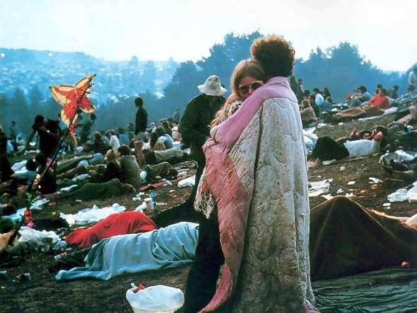 Woodstock 1969, le couple emblématique du Festival, Nick et Bobbi Ercoline AURORAWEBLOG.