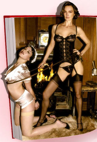 Agent Provocateur Catherine Bailey BDSM Lady of the Manor campagne Publicitaire 2007