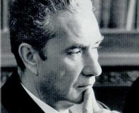 Aldo Moro pensif, 1976, Photographie d'archives.