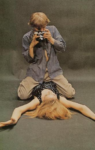BDSM AURORAWEBLOG Soumission et Domination Blow Up Michelangelo Antonioni 1966.