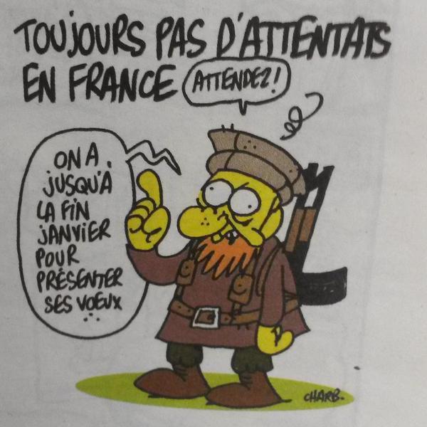 Le dernier dessin de Charb