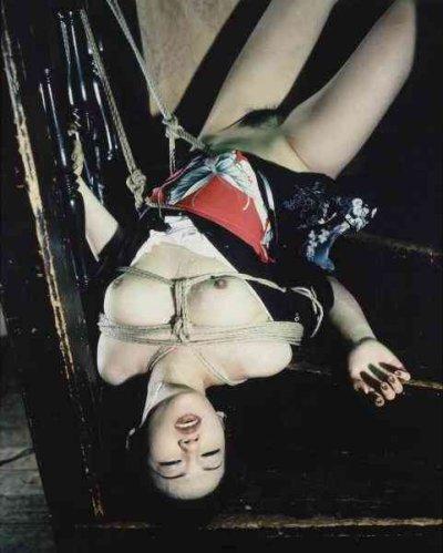 Nobuyoshi Araki Bondage Serie Suspension