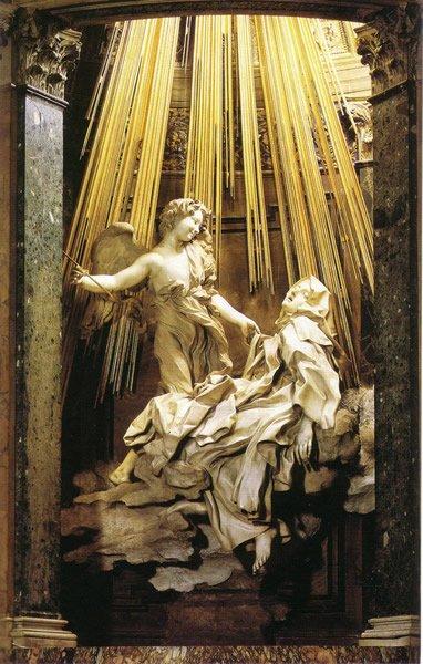 L' Extase de Sainte Thérèse Le Bernin