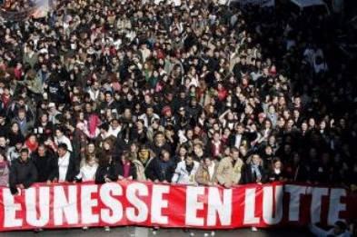 Jeunesse en manifestation contre le CPE mars-avril 2006