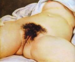 Gustave Courbet L'origine du monde 1866