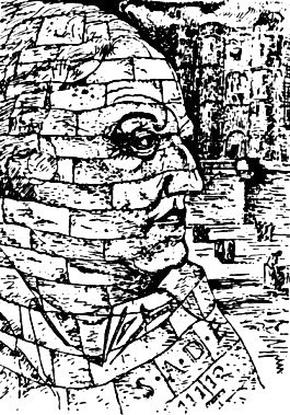 Sade Portrait Imaginaire par Man Ray AURORAWEBLOG
