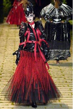 John Galliano pour Dior Défilé 5 juillet 2006