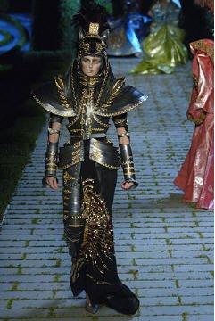 Défilé hiver 2007 Galliano chez Dior