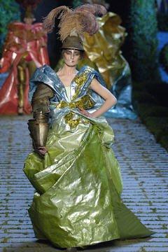 John Galliano pour Dior hiver 2007
