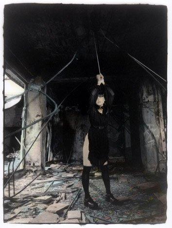 Ken-Ichi Murata BDSM femme attachée plafond AURORAWEBLOG