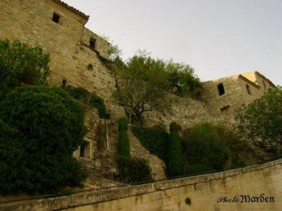 Le village du Marquis de Sade Lacoste août 2007