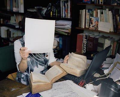 Sophie Calle La latiniste pour Prenez soin de vous Biennale de Venise 2007