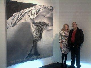 Ne m'oublie pas Hommage à Courbet de Gilles Traquini censuré à Nice Galerie Helenbeck