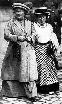 Clara Zetkin Rosa Luxemburg 1910, AURORAWEBLOG