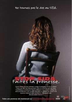 Image Femme Campagne contre le Sida 2005