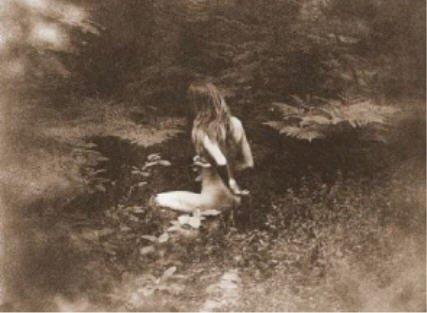 BDSM sépia jardin
