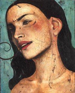 AURORAWEBLOG The Unclean Spirit painting Craig La Rotonda