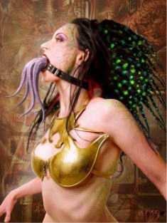 AURORAWEBLOG BDSM Bâillon Gorgone Méduse