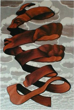 Maurits Cornelis Escher Tableau 1955 Rind
