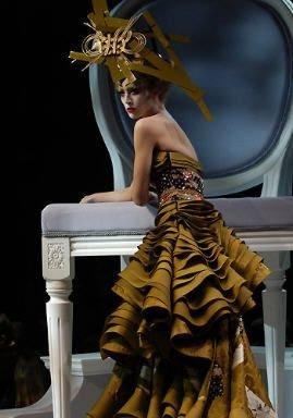 Dior, Défilé Haute Couture Eté 2007, John Galliano, Hommage au New Look