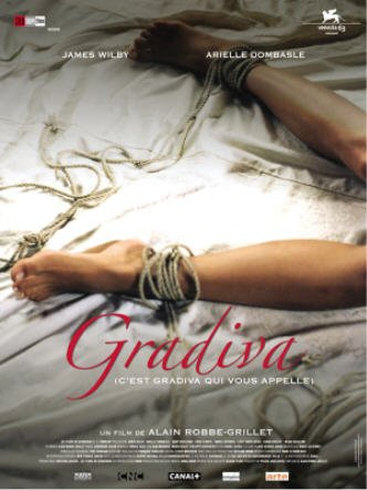 Gradiva un film d'Alain Robbe-Grillet 2007 affiche officielle