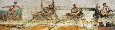 Fresques érotiques Terme Suburbane Pompéi AURORAWEBLOG