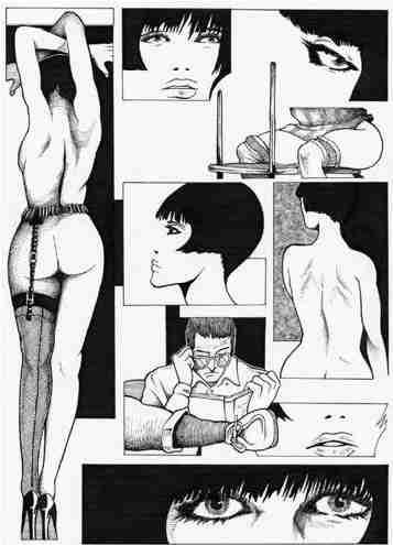 Guido Crepax Valentina BDSM Bondage