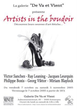 Fetish Art Leaning Sanchez Boxis Leurquin Blaylock Viktor in Anvers AURORAWEBLOG
