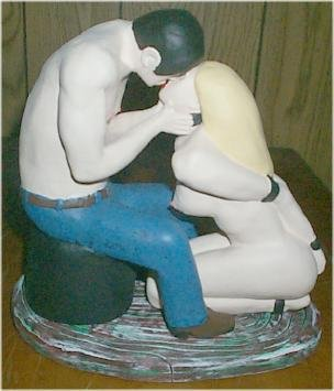 BDSM Kiss, BDSM figurine
