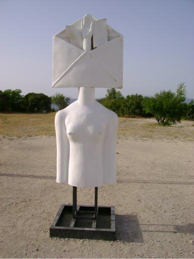 Sculptures d'Alexander Burganov Eros et Thanatos