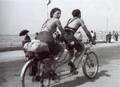 Vacances en tandem été 1936 AURORAWEBLOG