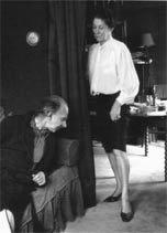 Pierre Klossowski et son épouse Denise Morin-Sinclaire dite Roberte