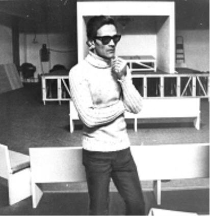 Pasolini dirige Orgia Torino 1968