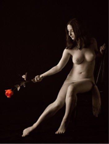 BDSM soumission, rose