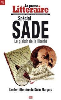 Sade La Presse Littéraire Hors-Série No2
