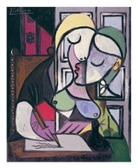 AURORAWEBLOG Picasso WomanWriting